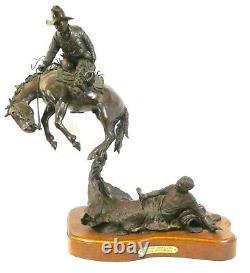 Sculpture De Bronze En Fonte De H. Clay Dahlberg. Signé. 16/25 1982