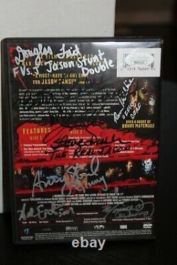 Son Nom Était Jason DVD Signé Par 26 Acteurs Et Équipages! Jsa Certified Loa