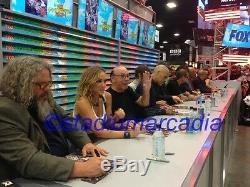 Sons Of Anarchy Cast Signed Affiche Dédicacée Sdcc San Diego Comic Con 2014 Soa