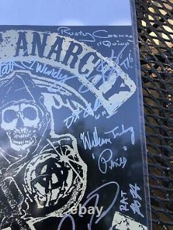Sons Of Anarchy-rare Complete Cast Authentic Hand Signed In Person- Mint Shape