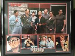 Sopranos Cast Signé -44 X 36