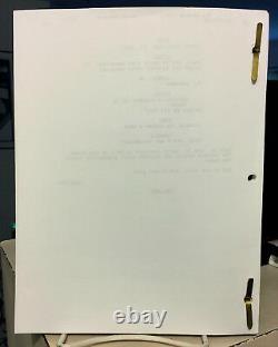 Sopranos Cast Signé Script-james Gandolfini-falco-sirico-van Zandt-imperioli + 7