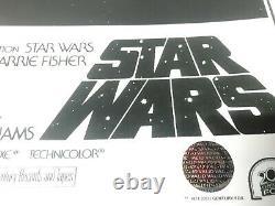 Star Wars 3 Cast Signé Autographe Movie Poster 11x17 Avec Coa
