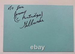 The Partridge Family 8 Membres Originaux De La Distribution Autographié David Cassidy