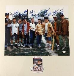 The Sandlot Autograph Signed Cast Member 16x20 Photo W Character Names Rare Jsa
