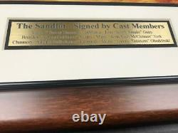 The Sandlot Movie 11x14 Framed Photo Autographed Signed By 6 Cast Members Bas