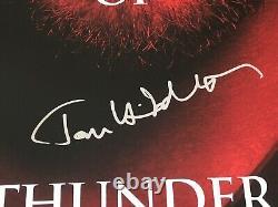 Thor Stan Lee Chris Hemsworth Tom Hiddleston Cast A Signé Une Affiche De Cinéma 1-feuille +