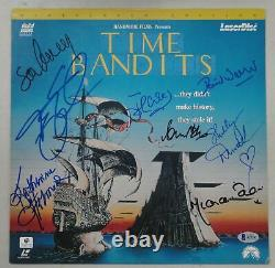 Time Bandits Cast Main Signé Laserdisc Sean Connaire Cleese Duvall Beckett