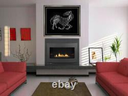 Victor Vasarely Original Zebra Cast Relief Sculpture Grandes Oeuvres D'art D'animaux Signées