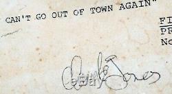 Wkrp À Cincinnati Tir Script Signé Par Whole Cast