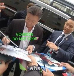 Yifei Liu Signé Mulan Poster Cast X Exacte Preuve Photo Crystal Liu Disney Sexy
